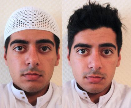 Gahfiya para homem muculmano