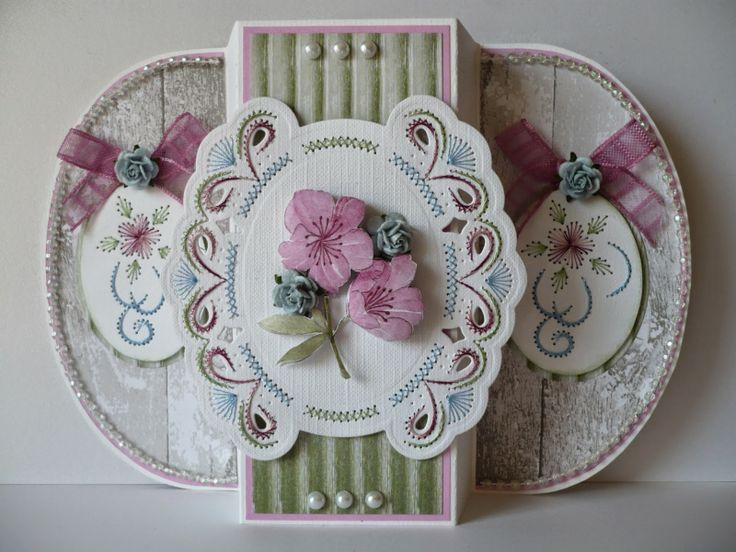 Joy!crafts: Borduurkaart + doosje