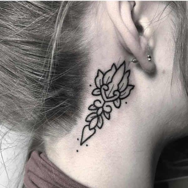 Tatuaże Na Szyi Znaczenie Symbolika 100 Zdjęć Pomysł Na