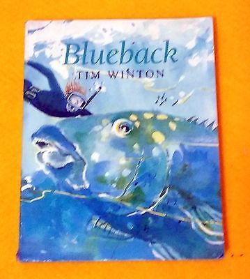 Blueback: a Fable for All Ages by Tim Winton FREE AUS POST used paperback, 1997