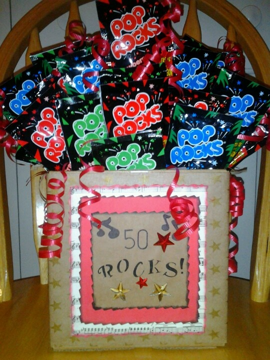 50th birthday a box of rocks projects to try for Crafts for birthdays as a gift