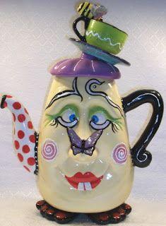 7 das Artes: Bules de cerâmica muito originais!
