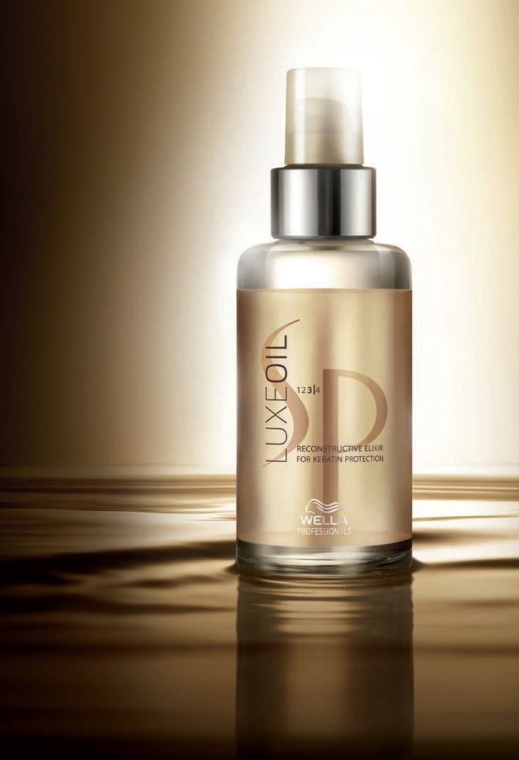 I am obsessed!!!!! Everyone should use this! Wella System Professional Luxe Oil