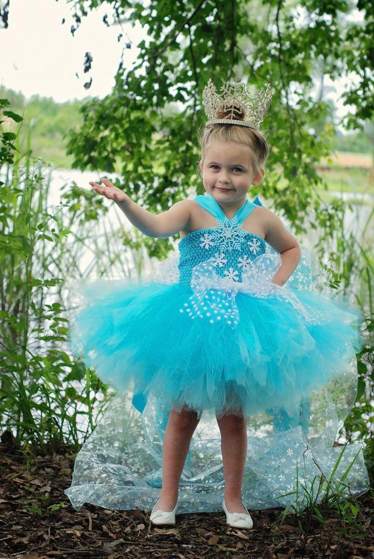 Ice Princess Dress - Halloween tutu dress - Snow Princess costume - Tutu dress -1T-2T - Princess Dress for toddlers - Halloween Costume by AllDressedUpCouture on Etsy
