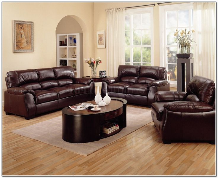 brown color schemes dark brown furniture leather furniture room