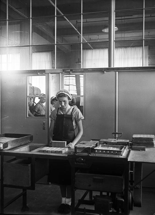 #Verkade meisje aan het werk | Verkade girl at work