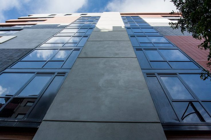 The Residences at 500 Drummond Street, Carlton, an Australian Unity retirement community, features U-MAX thermally broken window systems. #ispyai #sustainablebuilding