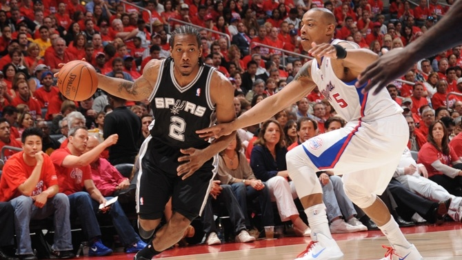 Kawhi Leonard named to the NBA's 2011-2012 All-Rookie First Team!