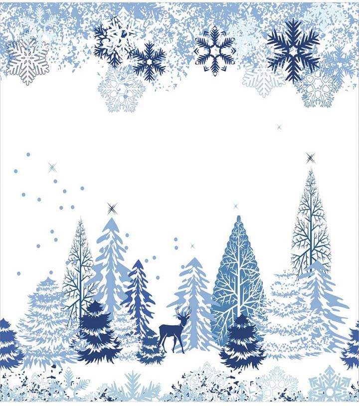 Ambesonne Christmas Place Mats Set Of 4 Reviews Table Linens Dining Macy S Clip Art Borders Winter Background Christmas Placemats