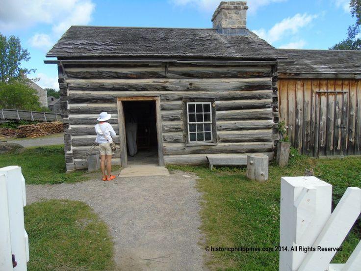 The Broom Maker's Home, Upper Canada Village