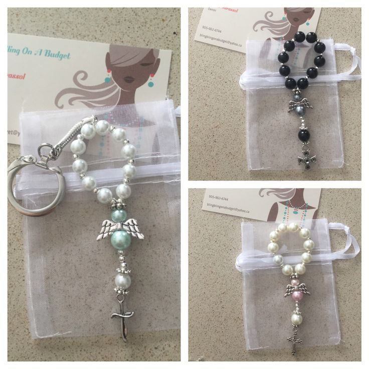 Love these adorable little rosary angel keychains, color choices are endless:) angel, rosary, keychains, baptism, Christenings, weddings, birthday party, birthday, special someone, handmade, religious, Bomboniere, party favor, unique, baby, newborn, birth