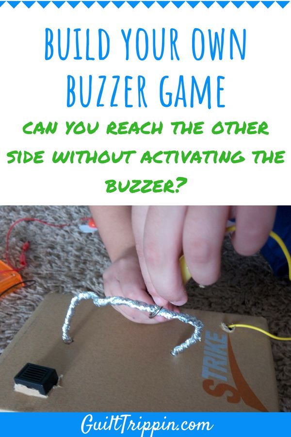 A great STEM activity that results in a fun diy game of hand-eye coordination, hand stability, concentration and patience.