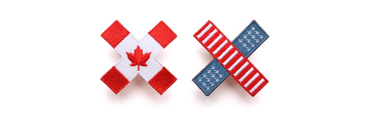 Canada vs. United StatesFavorite Places, Daddy Gift, United States