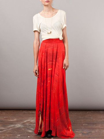 PGF Houseline Gored Maxi