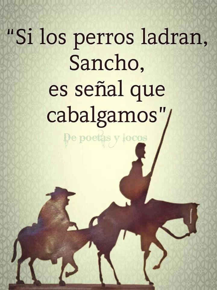 'Don Quijote de la Mancha' de Miguel de Cervantes..