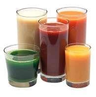 świeże soki z wyciskarki do soków