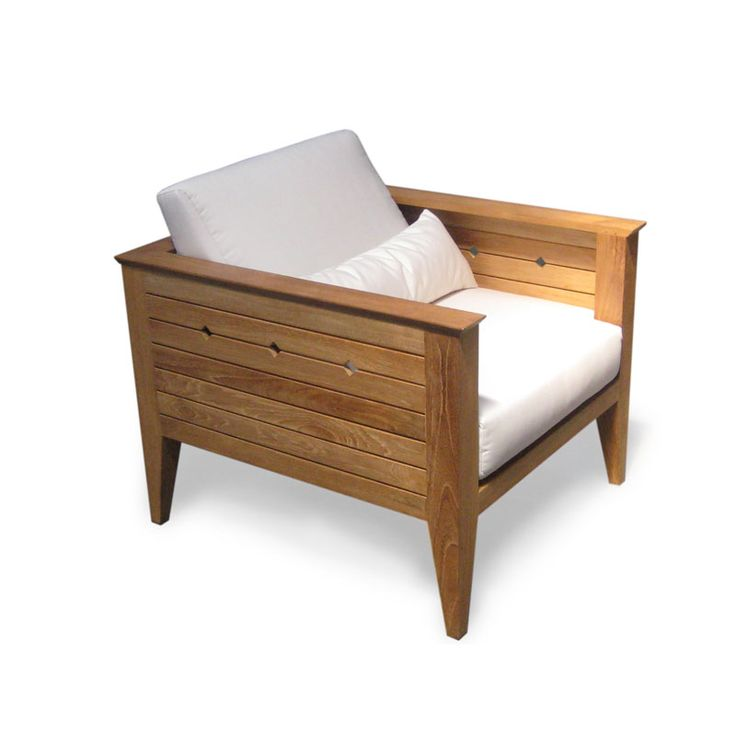 Teak Deep Seating Lounge Chair - Westminster Teak Outdoor Furniture