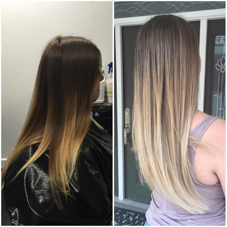First session of balayage blonde ombré on Emily with wella blondor Plano,  Texas