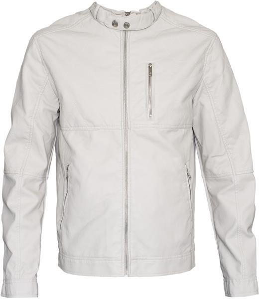 Белая кожаная куртка мужская
