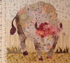 White Buffalo Collage Quilt Pattern by Laura Heine