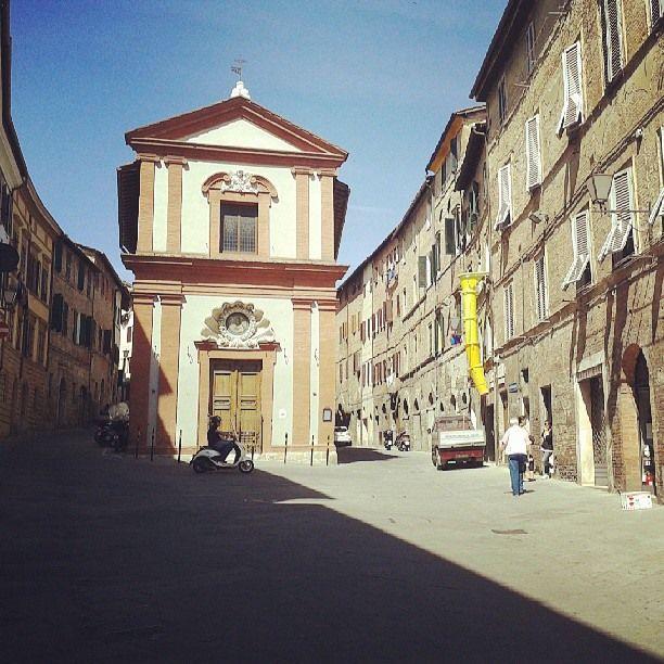 One of Siena's many little known churches! San Gaetano da Thiene, the oratory of the Nicchio neighborhood.