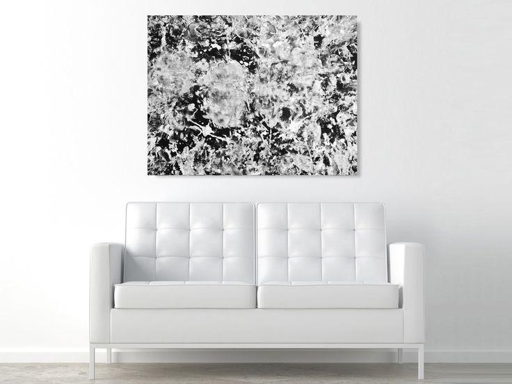LOVE IS ART KIT - Reibt euch gegenseitig mit Farbe ein und liebt euch anschließend auf einer Leinwand! Das Ergebnis ist ein ästhetisches, abstraktes Kunstwerk zum Aufhängen. - coolstuff.de