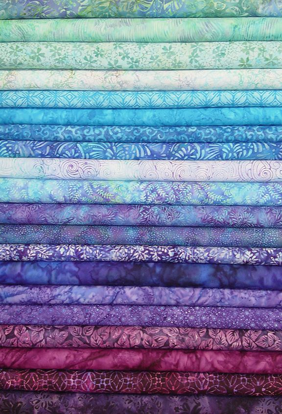 Jewel Toned Batik Strips Js20 004 Love These Colors Need
