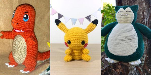 12 Free Pokemon Go Amigurumi Crochet Patterns Pokemon ...