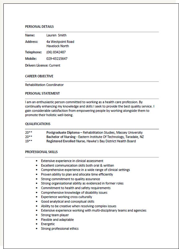 The 25+ best Cv template nz ideas on Pinterest Easy orange - resume template nz