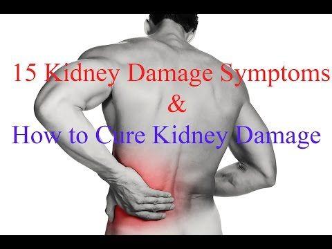 15 Kidney Damage Symptoms - YouTube. ...