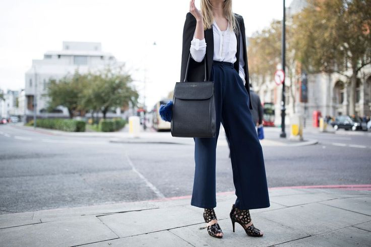 You can style Inspire Black Patent stilettos in so many different ways. We love this office outfit, what do you think ladies?  Sargossa.com