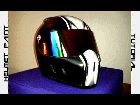 Is It Safe To Spray Paint Motorcycle Helmet