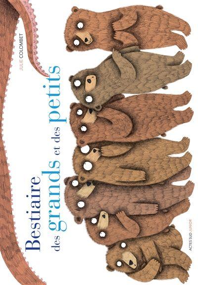Bestiaire des grands et des petits - Julie Colombet - Librairie Mollat Bordeaux