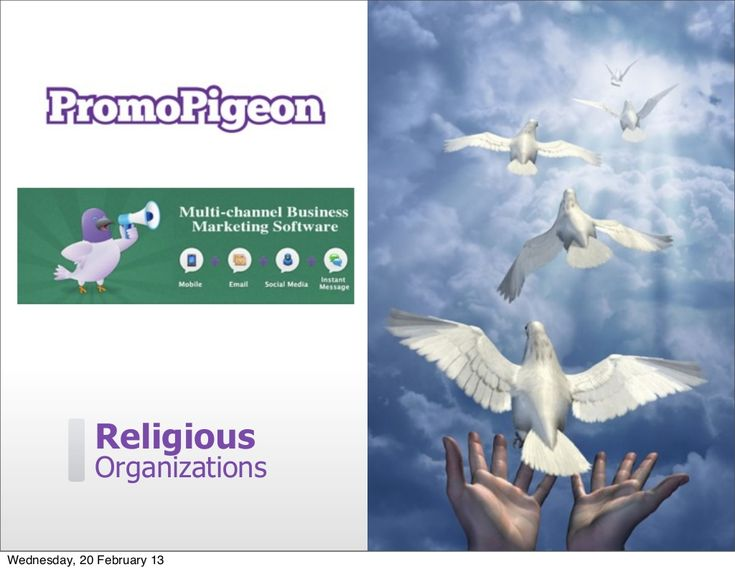 Multi-Channel #Marketing Software For Religious Organisations.