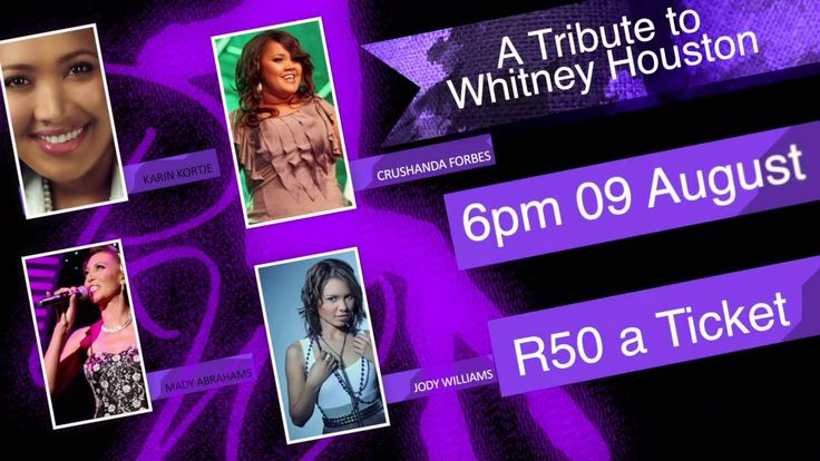 """Remarkable Women """"A tribute to Whitney Houston"""" Concert"""