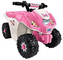 Power Wheels Minnie Mouse Lil' Quad Ride On