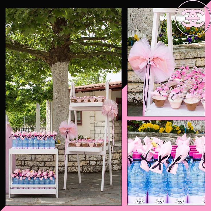 #Βάφτιση με #άρωμα #Channel_No5 #Love #4LOVEgr -#beautiful #baptism with a scent of #Chanel_No5 -#sweets -Always #happy to #work with #flowers and #decoration and give unic #style to #weddings #baptisms #christening #party #birtdays and every #event - Concept Stylist #Μάνθα_Μάντζιου & Floral Artist #Ντίνος_Μαβίδης