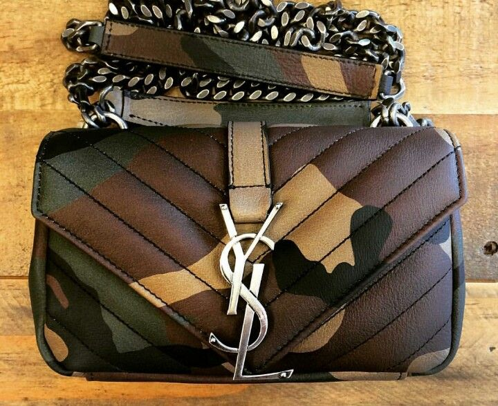YSL Camo Crossbody | Fashion Game | Pinterest | Camo