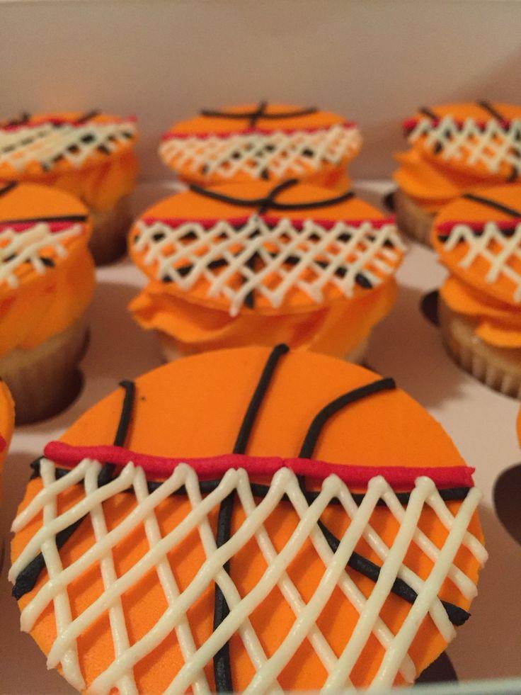 Basketball cupcakes                                                                                                                                                                                 More