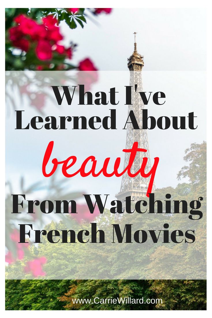 Like any good wanna-be French girl, I've seen my fair share of French movies. While I watch them to immerse myself in conversational, every day casual French, I also learn things about their attitudes towards beauty. Here's what I've learned about beauty from watching French movies. Less makeup, more skin (and hair) care French women …