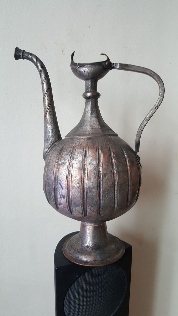 Медный кувшин, Индия 17век,  copper ewer, Mughal India 17th C