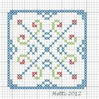 Cross Stitch SAL 2012  Part 1
