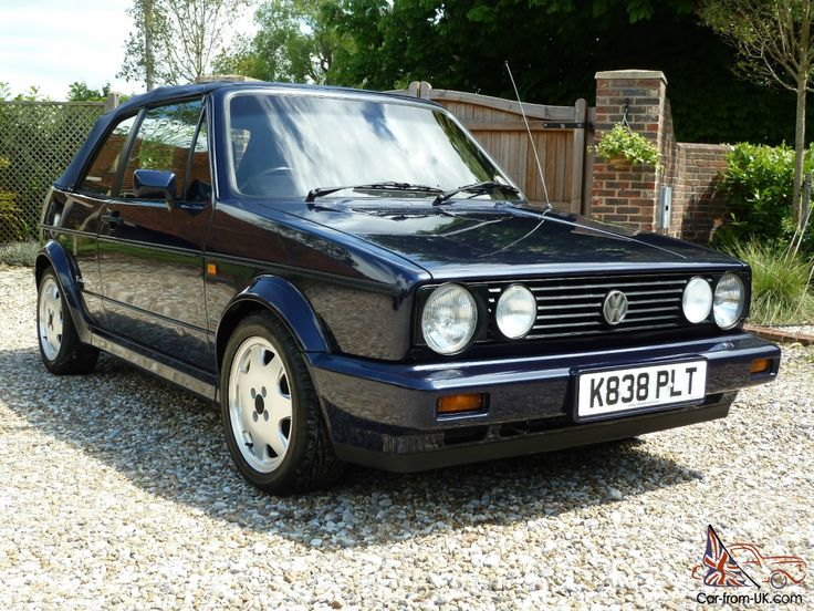 blue cabriolet vw golf mk1 with blue canvas top volkswagen pinterest mk1 blue and canvases. Black Bedroom Furniture Sets. Home Design Ideas