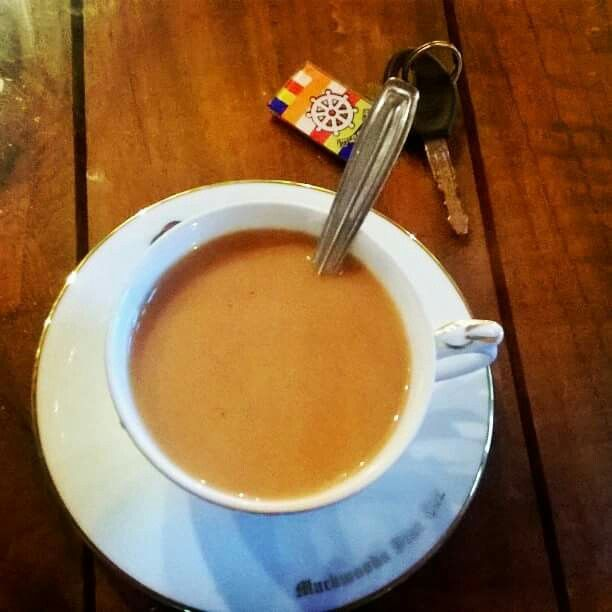 Mackwood tea factory in sri lanka ... Tasty tea :)