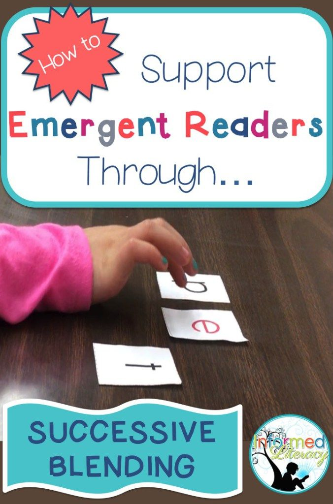 Supporting Emergent Readers Through Successive Blending