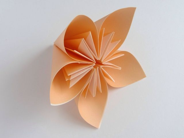 How To Make An Origami Flower Recipe Easy Origami Flower