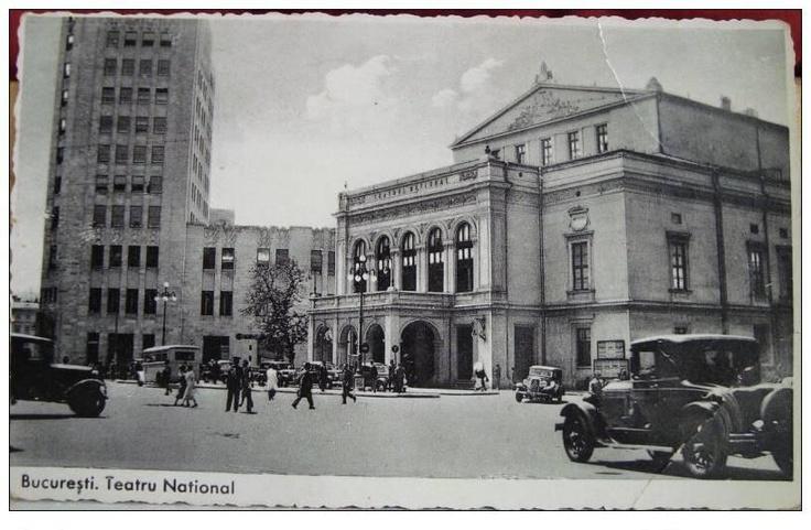 Bucuresti - Teatrul National - interbelic