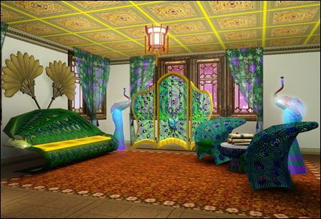 37 best images about themed rooms on pinterest best for Peacock themed living room ideas