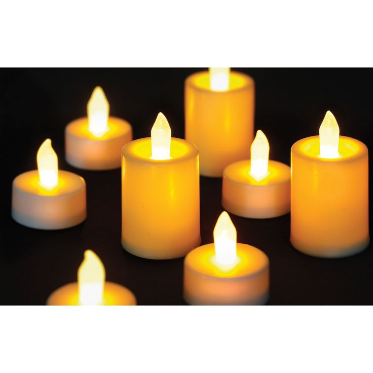 Order Home Collection 14-piece LED Tealight Candle Set (OHC 14-piece LED Tealight Candle Set), White (Plastic)
