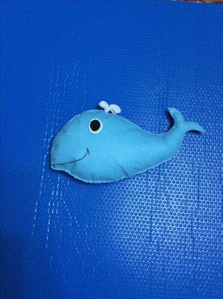 Felt dolphin Keçe Yunus oyuncak